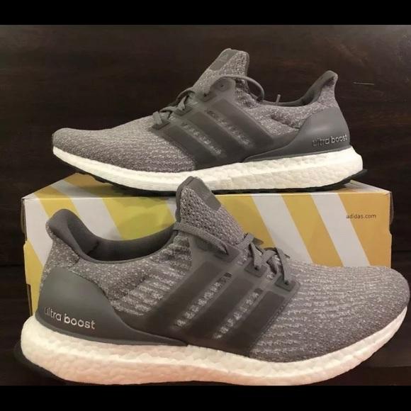 Adidas Ultra Boost 3.0 Grey Womens Shoes NWT